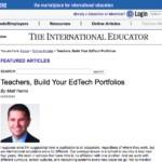 Teachers, Build Your EdTech Portfolios - TIEOnline